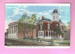U.S.A. IOWA. CEDAR RAPIDS.   MASONIC HALL AND CONSISTORY BUILDINGS - Cedar Rapids