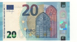 20 EURO 'France'    Draghi  U 003 A5   UD6034965012 /  FDS - UNC - EURO
