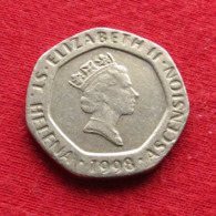 Saint Helena & Ascension 20 Pence 1998 KM# 21 - Saint Helena Island