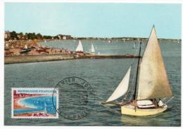 Carte Maximum 1967 - La Baule -YT 1502 - 44 La Baule - Maximum Cards