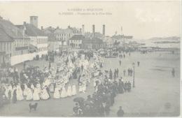 Miquelon Terre-neuve Procession église - Saint-Pierre-et-Miquelon