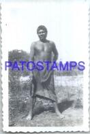 123895 ARGENTINA COSTUMES NATIVE INDIO MATACO 9.5 X 6.5 CM PHOTO NO POSTAL POSTCARD - Argentine