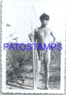 123896 ARGENTINA COSTUMES NATIVE INDIO MATACO 9.5 X 6.5 CM PHOTO NO POSTAL POSTCARD - Argentinien