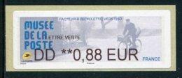 "LISA De 2019 - ""DD **0,88 EUR - LETTRE VERTE - MUSEE DE LA POSTE"" - 2010-... Geïllustreerde Frankeervignetten"
