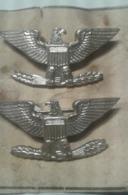 WW II 2 Original US Colonel Rank Insignia,Collectors - 1939-45