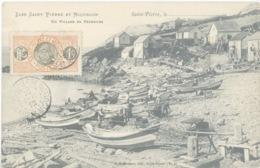 Miquelon Terre-neuve Pêcheurs Morue Doris - Saint-Pierre-et-Miquelon