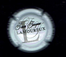 CAPSULE De CHAMPAGNE/  Jean-Jacques LAMOUREUX -10 Les RICEYS /  Légende NOIRE, Gris Foncé Fond Blanc - Champagne