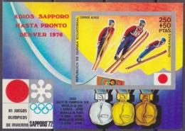 1972Equatorial Guinea34/B4b1972 Olympic Games In Sapporo7,50 € - Winter 1972: Sapporo