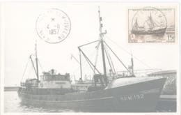 Miquelon Terre-neuve Port Bateau Morues Pêcheurs Chalutier - Saint-Pierre-et-Miquelon