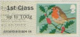 GB 2010 Birds (1st Series) 1st Type 4 Used Code 015010 [32/224/ND] - Grande-Bretagne