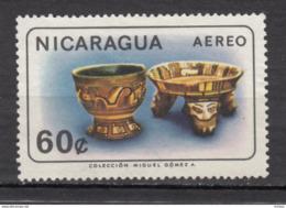 ##26, Nicaragua, Antiquité, Antiquity, Archéologie, Archaeology, Airmail, Porcelaine, Poterie, Pottery, - Nicaragua