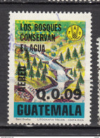 #26, Guatemala, Chutes, Falls, Chute, Fall, FAO, Conservation De L'eau, Water, Airmail - Guatemala