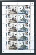 Australia 2011 Navy Ships Sheetlet Of 5 Pairs MNH - Mint Stamps