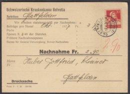 ZH   GLATTFELDEN  / NACHNAHME - Svizzera