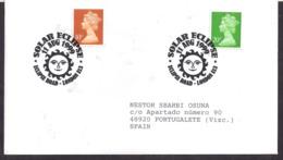 Great Britain - 1999 - Cachets Spéciaux - Eclipse Totale De Soleil, 11 Août 1999 - FDC & Gedenkmarken