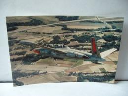 PHOTO COULEUR FOUGA MAGISTER  Aerospatiale-Potez Avion D'entraînement Et D'attaque Au Sol Premier Vol 23 Juillet 1952 - Fotos