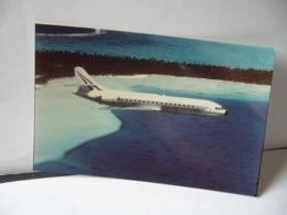 PHOTO COULEUR CARAVELLE 11 R Construite à Seulement 6 Exemplaires, 1 Er Vol 21 Avril 1967 - Fotos