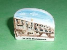"""Fèves / Pays / Régions  : Les Salles De Champcornu """" Guillon Picard 79 La Crèche  """" Perso     T15 - Regio's"""