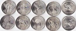 PERU COINS SET SERIE FAUNA ENDANGERED , UNC - Peru