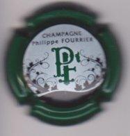 Capsule Champagne FOURRIER Philippe ( 25e ; Contour Vert Foncé ) {S46-19 } - Champagne