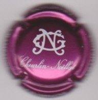 Capsule Champagne CHEURLIN_NOELLAT ( 47e ; Violet Et Blanc ) {S46-19 } - Champagne