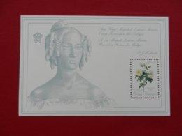 Planche Timbre Neuf - Belgique - à Sa Majesté Louise Marie 1°Reine Des Belges - 1989 - Panes