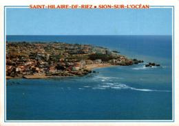 Saint Hilaire De Riez Sion Sur L'ocean Vue Generale La Corniche Et Les Cinq Pinneaux    CPM Ou CPSM - Saint Hilaire De Riez