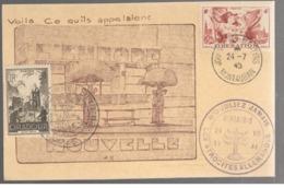 24564 - JOURNEE MARTYRS MONTAUBAN - Poststempel (Briefe)
