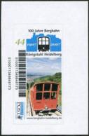 Germany 2007 MORGENPOST Mannheim Private Post Königstuhl Heidelberg Bergbahn Mountain Funicular Railway Cable Car Train - Trains