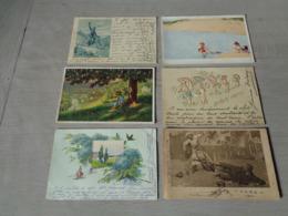 Beau Lot De 20 Cartes Postales De Fantaisie    Mooi Lot 20 Postkaarten Van Fantasie   -  20 Scans - 5 - 99 Cartes