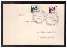 Dt- Reich (008546) Propaganda Satzbrief Mit Marken Welttreffen Der Hitlerjugend, SST Kuhlmühle, Deutschlandlager 1935 - Deutschland
