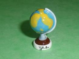 Fèves / Autres / Divers : Globe , Mappemonde  T121 - Geluksbrengers