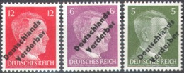 0627 ✅ Defins War WWII WW2 Soviet Occupation Local Optd. 1945 Meissen Germany 3v MNH ** 46ME - Zona Soviética