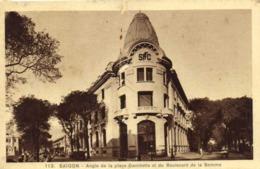 SAIGON Angle De La Place Gamberra Et Du Boulevard De La Somme RV - Viêt-Nam