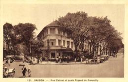 SAIGON Rue Catinat Et Quais Rigaud De Geouiily RV - Vietnam