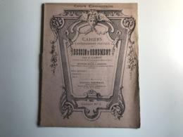 Cahiers Du DESSIN D'ORNEMENT N°1 Par J. Carot - Non Classés