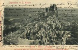 Republica Di S Marino Rocca Pieve Palazzo La Rocca Si Eleva Sul Livello Del Mare M 750 RV  Beaux Timbres 10+5+2 Rep De S - San Marino