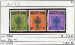 Irak - Iraq - Michel 340-342 - ** Mnh Neuf Postfris - Malaria - Iraq