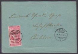 ZH   BÜLACH - OERLIKON - 1882-1906 Armoiries, Helvetia Debout & UPU