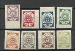 LETTLAND Latvia 1919 = 8 Werte Aus Satz Michel 15 - 23 * - Lettland
