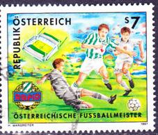 Österreich Austria Autriche - Fußballmeister 1996: SK Rapid Wien (MiNr: 2217) 1997 - Gest Used Obl - 1945-.... 2nd Republic