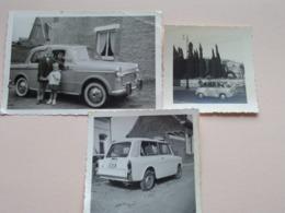 Oude AUTO / Old CAR / VOITURE / CARRO / BUS ( Zie / Voir Photo ) 3 Stuks / Pcs ! - Automobile
