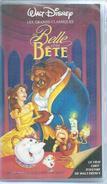 """VHS / K7 Vidéo  """" LA BELLE ET LA BETE """"   WALT DISNEY - Cartoons"""
