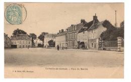 45 LOIRET - CORBEILLES DU GATINAIS Place Du Marché - Autres Communes