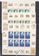 1970 The Centenary Of The Birth Of Vladimir Lenin  Full Set Of 10 Sheets X 8 V - MNH USSR - 1923-1991 USSR