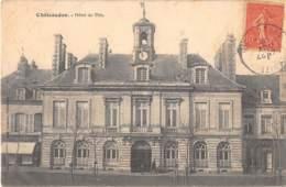 EURE ET LOIR  28  CHATEAUDUN - HOTEL DE VILLE - Chateaudun