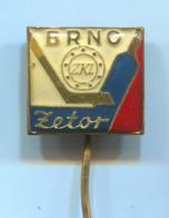 Ice Hockey Eishockey - ZKL ZETOR Brno Czechia, Vintage Pin, Badge, Abzeichen - Wintersport