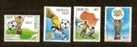 Senegal 1988 Yvertn° 758-61 *** MNH Cote 5,50 Euro Sport Football - Sénégal (1960-...)