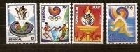 Senegal 1988 Yvertn° 768-71 *** MNH Cote 7,50  Euro Sport  Seoul 1988 - Sénégal (1960-...)
