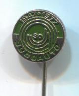 JUGOAUTO Ex Yugoslavia - Sport Club, Rallye Race, Car, Auto, Automotive, Vintage Pin, Badge, Abzeichen - Rally